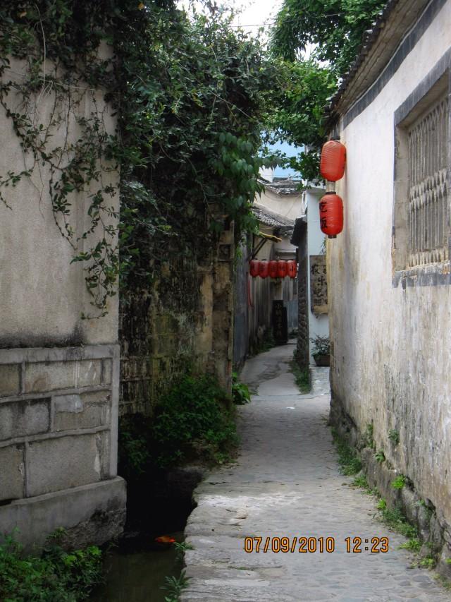 """宏村""""牛肠"""" Hongcun canal"""
