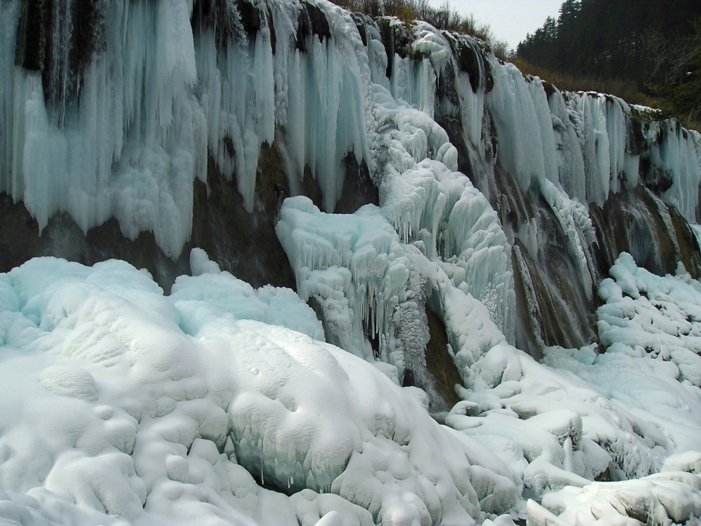 waterfall, Sichuan
